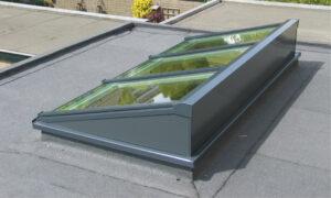 dakkoepel platte daken