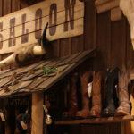 bruine westernlaars